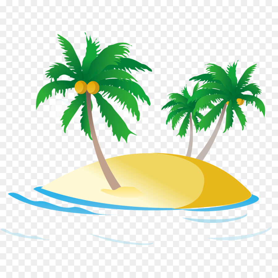 Coconut Tree Cartoon png download.