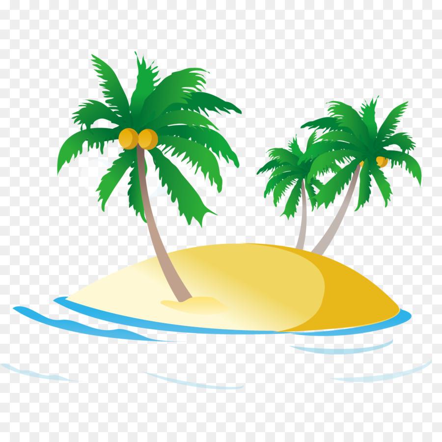 Coconut Tree Cartoon png download.