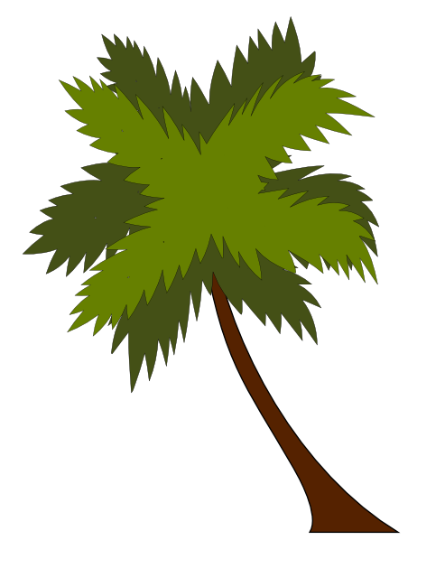 Free to Use & Public Domain Palm Tree Clip Art.