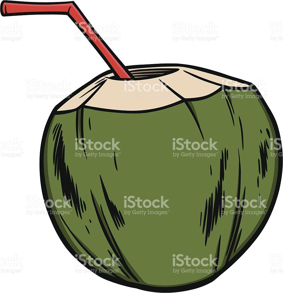 Coconut Water Cartoon Clip Art, Vector Images & Illustrations.
