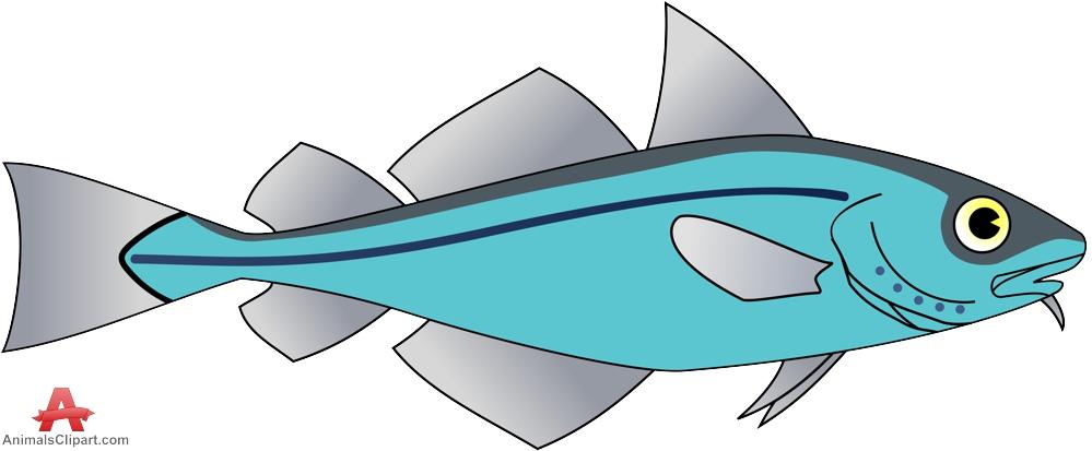 Cod fish clipart.