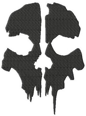 Call of Duty Ghosts logo.