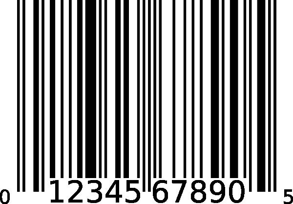 Bar Code Clipart.