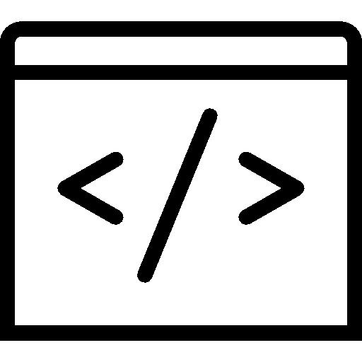 Very Basic Code Icon.