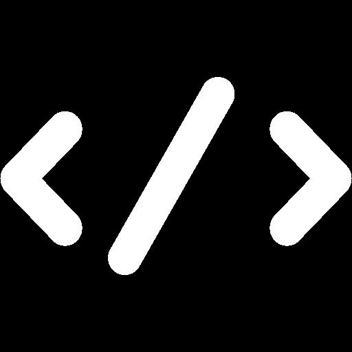 White code icon.