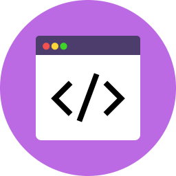 Code Icon Flat.