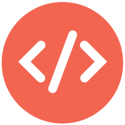 Seo web code Icon.