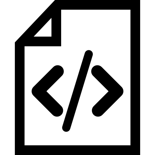 Code file Icons.