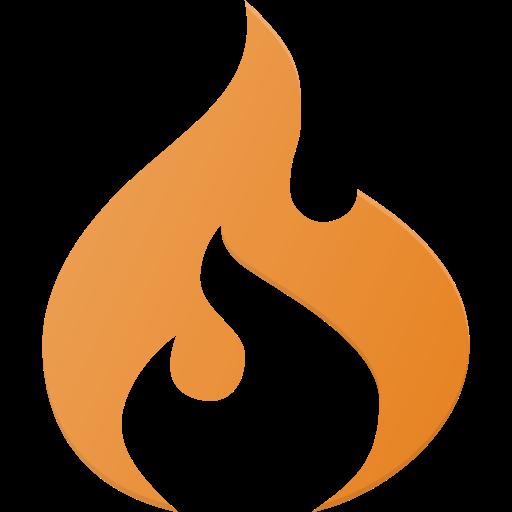Codeigniter, logo, media, social icon.