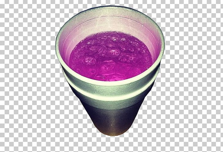 Purple Drank Codeine Promethazine Styrofoam Cough Medicine PNG.
