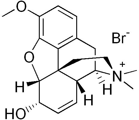 Codeine methylbromide.
