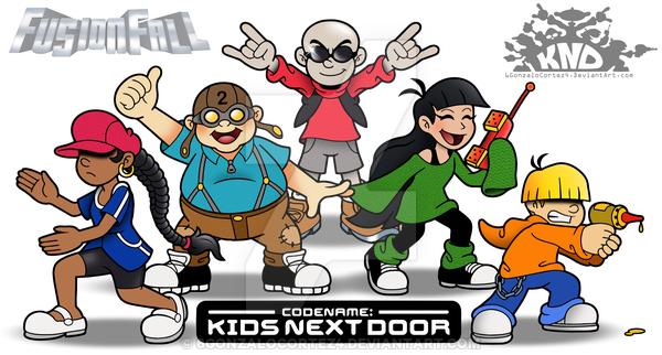 Codename Kids Next Door on Cartoon.