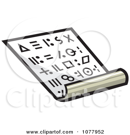 Secret Code Clipart.