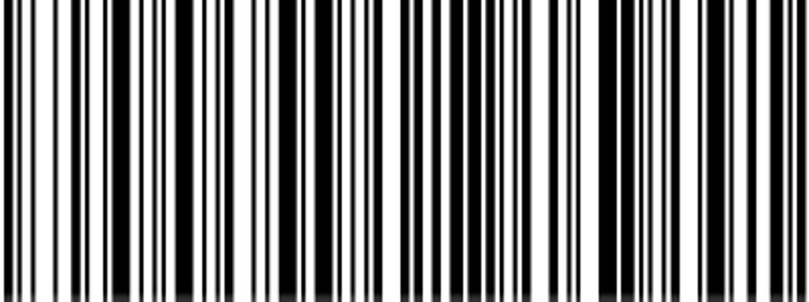 Por qué la imagen del codigo de barras tiene que ser vectorial?.
