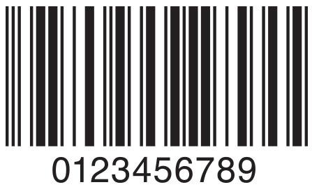 Códigos de barras entrelazados 2 de 5.
