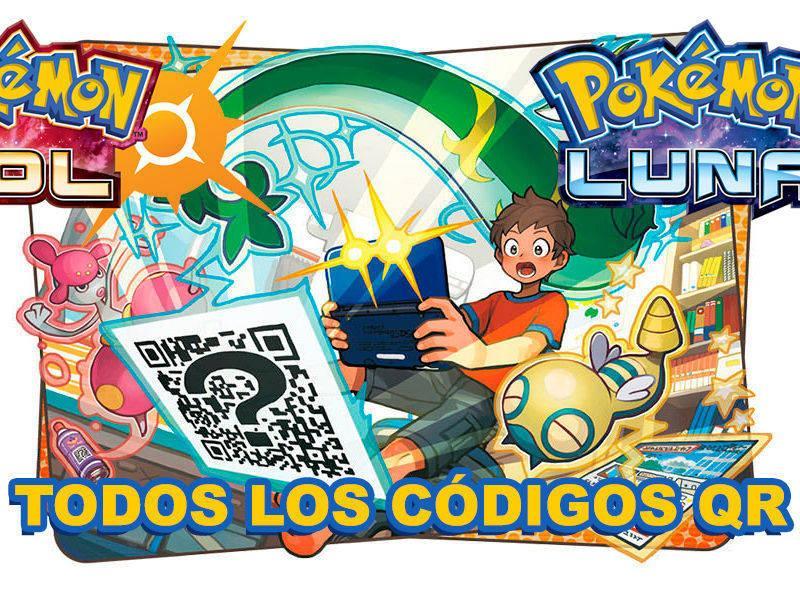 TODOS los códigos QR de Pokémon Sol y Luna (Incluye Magearna).