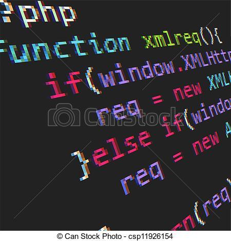 Coding Clip Art.