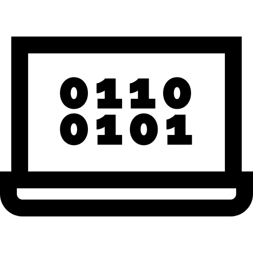 Computer Coding PNG Icon.