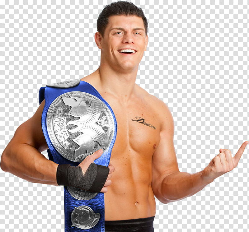 Cody Rhodes transparent background PNG clipart.