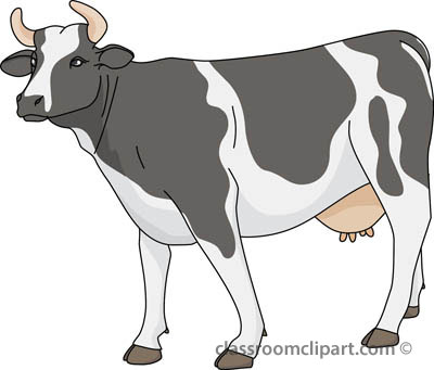Cow Clipart With Transparent Background.