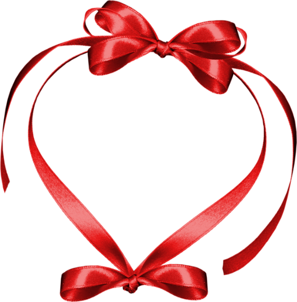 Download Free png Coeur png : cadre ruban rouge.