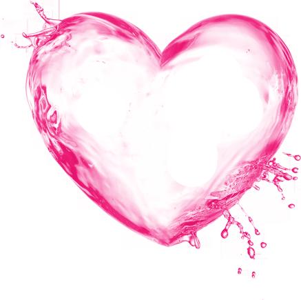 Download Free png coeur rose.