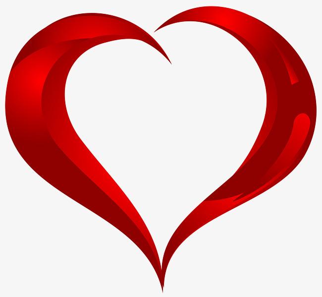 Un Coeur Rouge Hd, Rouge, En Forme De Coeur, Images Png Image PNG.
