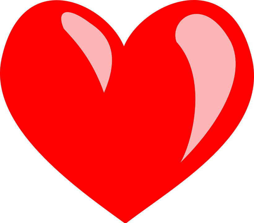 Coeur rouge png 1 » PNG Image.