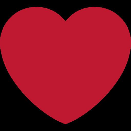 ❤️ Cœur Rouge Emoji.