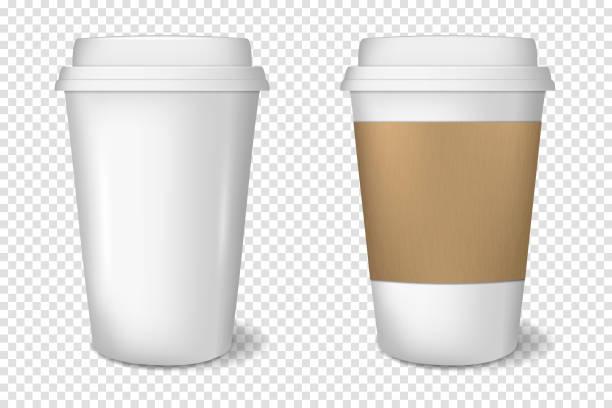 Best Paper Coffee Cup Illustrations, Royalty.