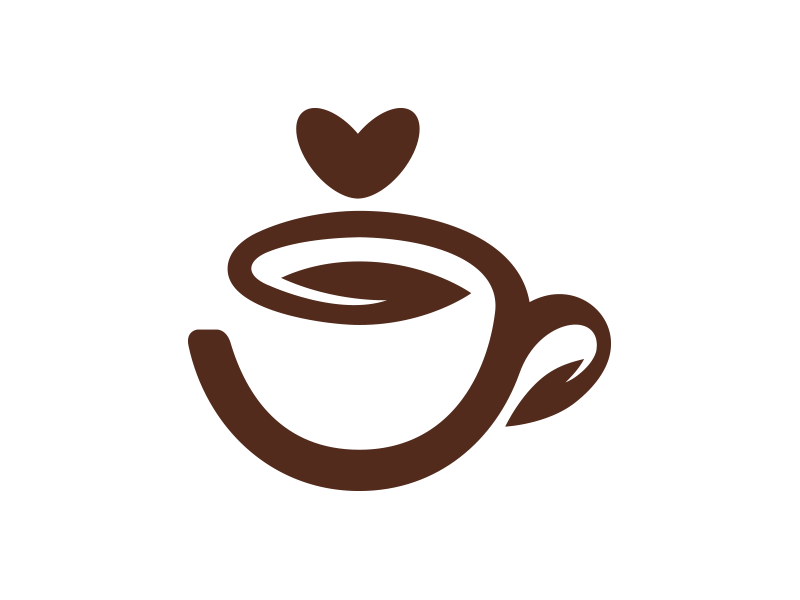 Organic Coffee Logo by Lucky Day Logos on Dribbble.