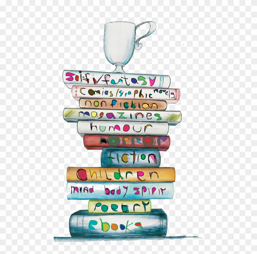 Books And Coffee Png Clipart The Rn Diaries Book Clip.