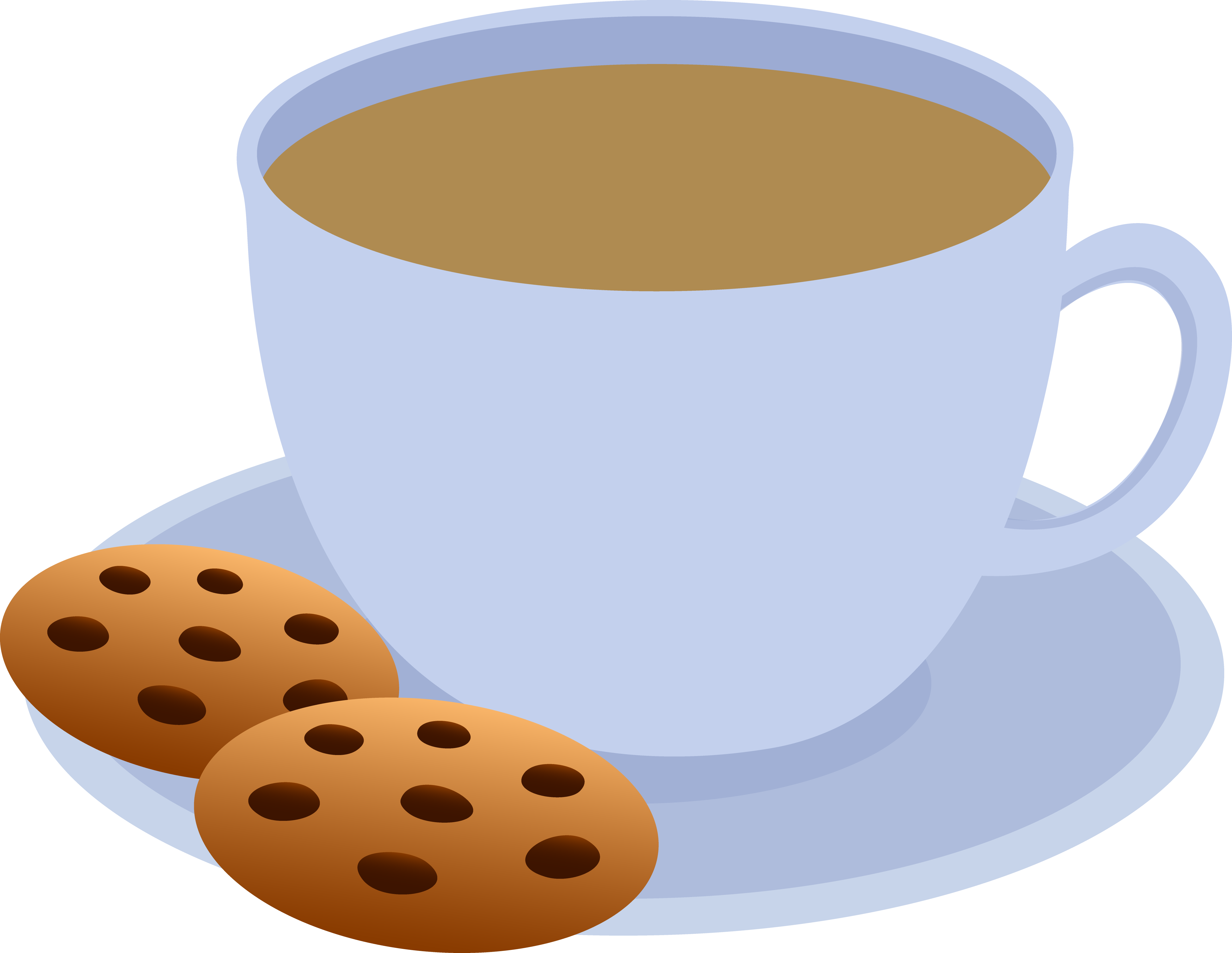 Coffee And Dessert Clipart.