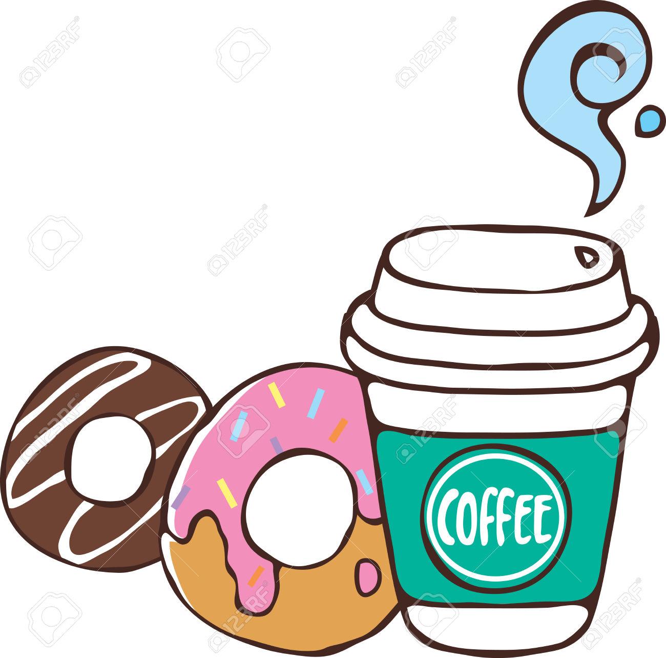 Coffee And Donuts Clipart & Coffee And Donuts Clip Art Images.