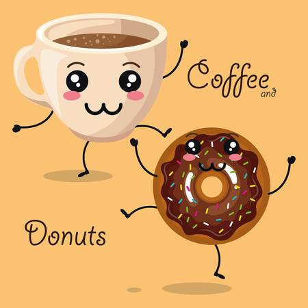 11,032 Donuts Coffee Cliparts, Stock Vector And Royalty Free Donuts.