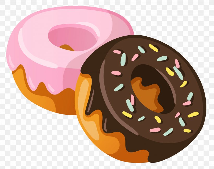 Coffee And Doughnuts Thumbnail Clip Art, PNG, 2787x2214px.