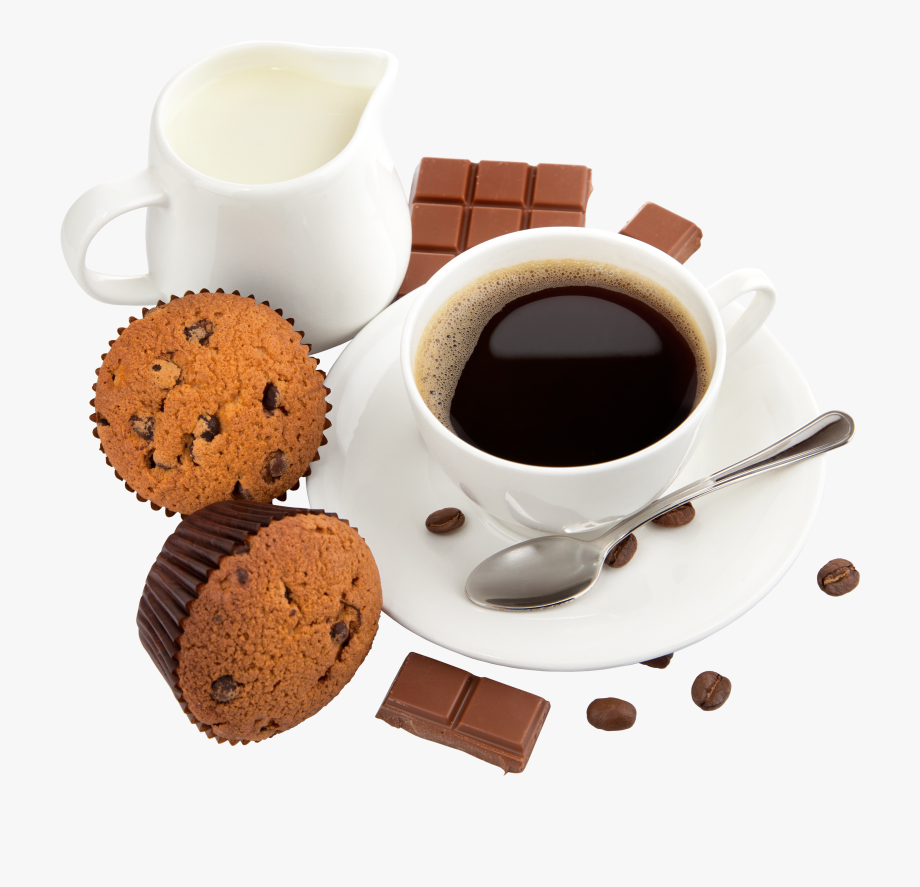 Free Clipart Coffee And Muffin.