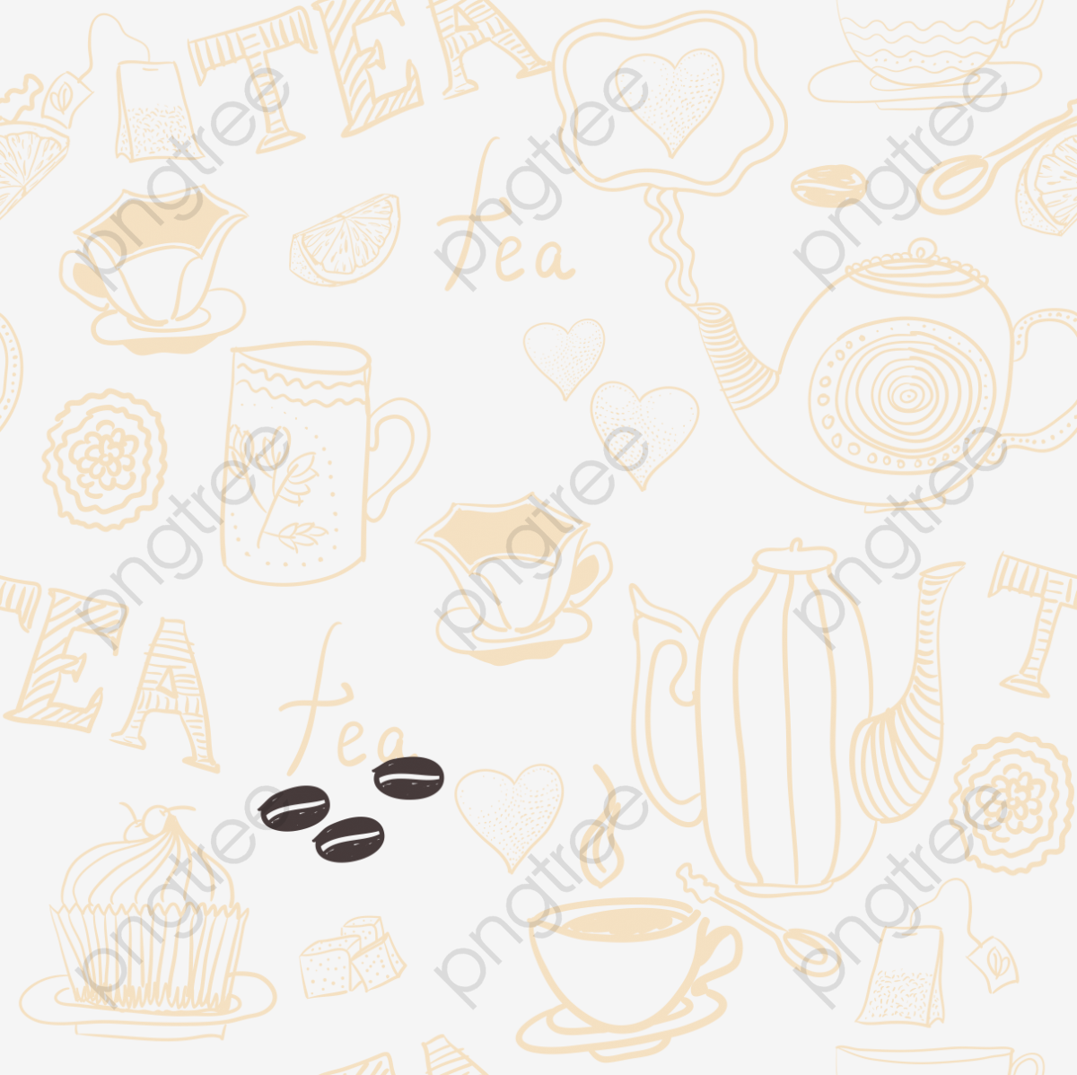 Coffee Coffee Background, Mug, Coffee Machine, Heart PNG and Vector.