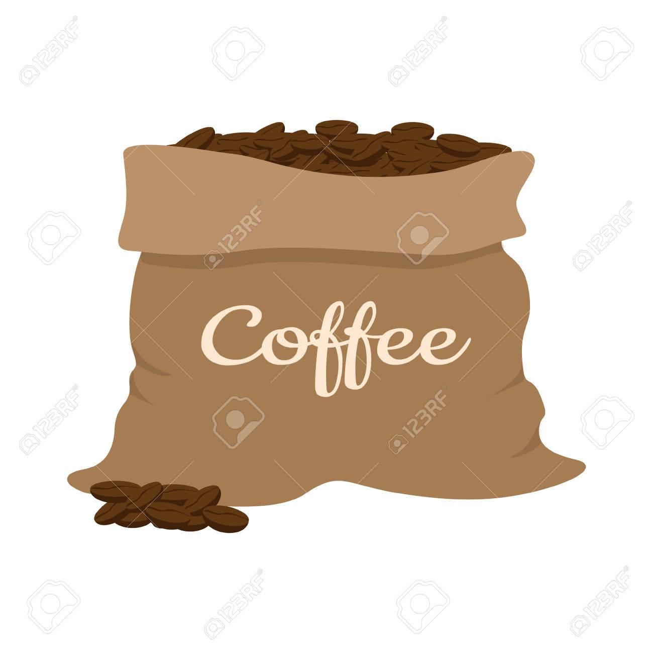Coffee Bean Bag Clipart & Free Clip Art Images #28132.