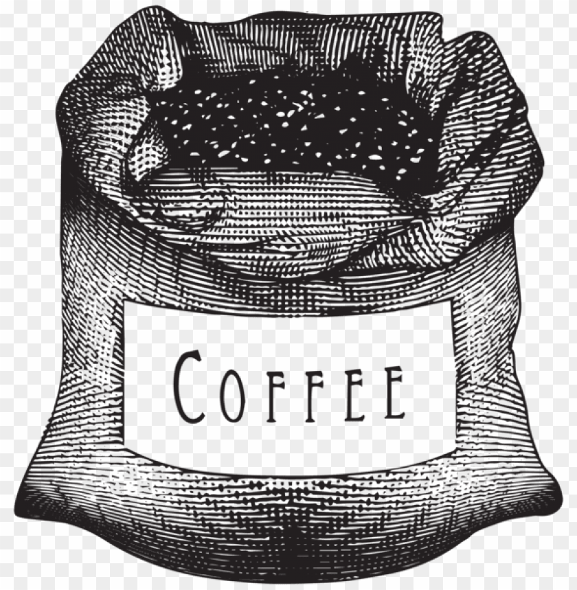 Download coffee bag clipart png photo.