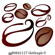 Coffee Bean Clip Art.