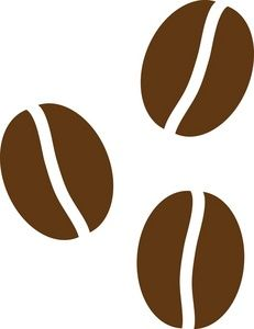 Coffee Beans Clipart Image: Coffee Beans.