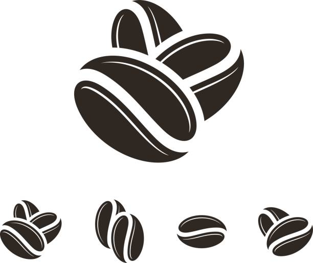 Best Roasted Coffee Bean Illustrations, Royalty.