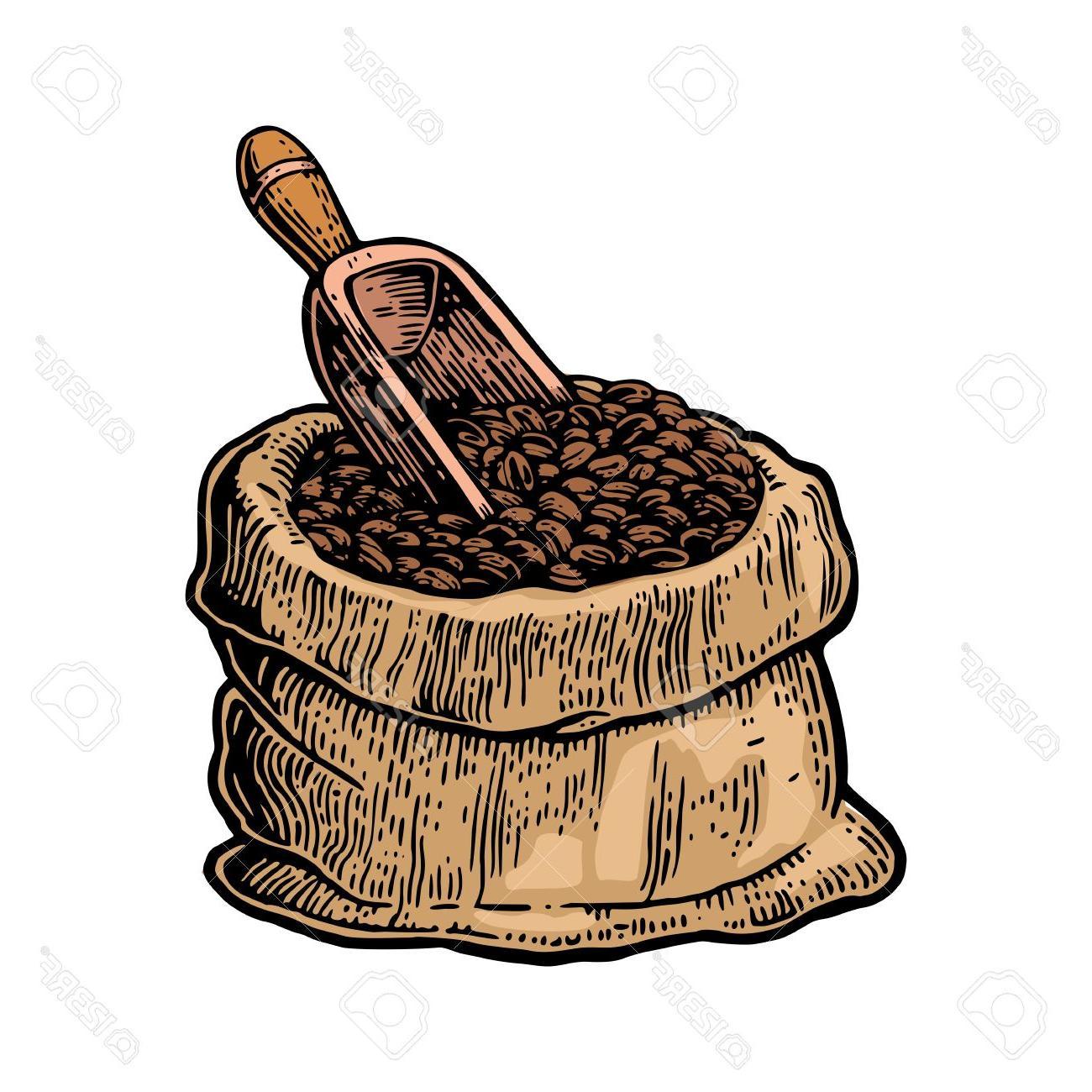 Best Free Coffee Bean Clip Art Shovel Photos » Free Vector Art.