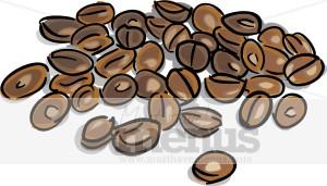 Coffee Beans Clipart.