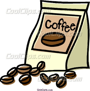 coffee beans Vector Clip art.