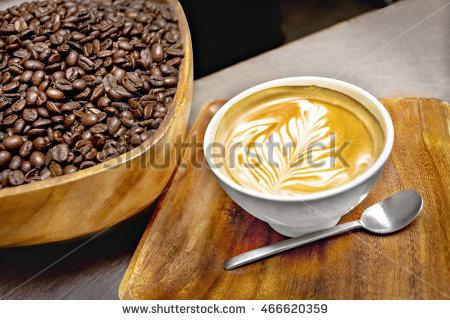 Coffee Latte Cafe Stock Photo 559606783.