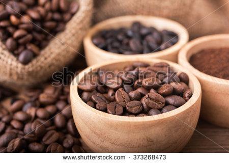 Ground Coffee Stock Photos, Royalty.
