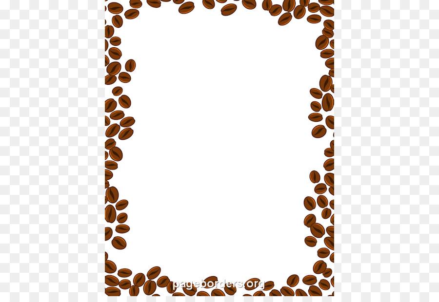 Free Coffee Page Borders.