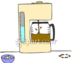 Gallery For > Coffee Brewing Clipart.